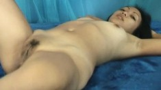 Sexy Joanne puts her wonderful body and her delicious holes on display