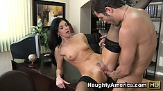 India Summer drains every drop of fluid from this jizz masters sack