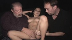 Stacked Brunette Nympho Sierra Having Intense Group Sex In A Theater