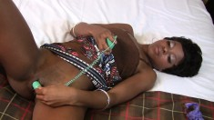 Short Haired Ebony Cutie With A Divine Ass Loves To Fuck A White Dick