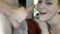 Amateur Girlfriends Webcam Facial