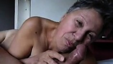 Mature Housewife Complete Blowjob