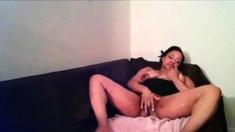Eriza from Angola in oiled up masturbation