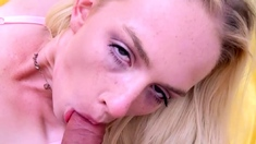 New Blonde Amateur Fucked By Stiff Cock At Audition