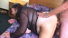 Fat Latina Doing Sexy Titjob