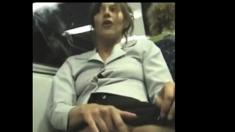 Exhib Girl In Train BVR