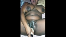 Gorgeous Ebony Fucked In Big Boobs And Hairy Pussy