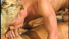 Insatiable gay dudes go on vacation and fuck each other's brains out